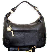 Florence - Leatherbay Tote Bag/Black