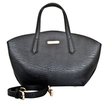 Orta - Leatherbay Tote Bag / Black